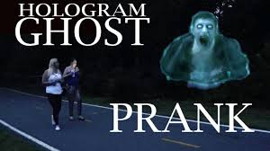 when did halloween start halloween hologram ghost prank youtube