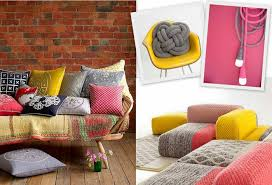 Home Decor Blogs 2014 Knitted Home Decor Interior Design Trend Design Lovers Blog