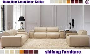 Leather Sofa Seat Large Seat Area Geniune Leather Sofa Seat For Lobby Salon Office