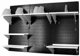 Home Office Wall by Wall Control Black Panel Home U0026 Office Wall Organizer Kit