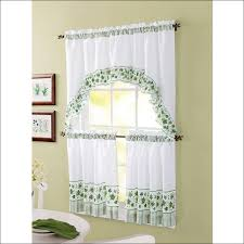 Contemporary Kitchen Curtains And Valances by Kitchen Grey Valance Red Kitchen Curtains Short Window Curtains