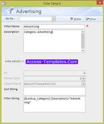 access templates for small business accounting ledger tutorial