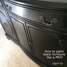 Painting Furniture Black by Lilyfield Life How To Paint Furniture Black Like A Boss