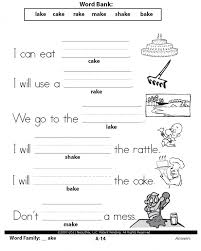 awesome collection of language arts worksheets 1st grade with