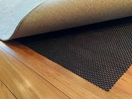 premium non slip rug pad 6 u2032 x 9 u2032 stop slipping with this large