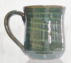 mug by lula owens bolick of bolick pottery the swirl technique