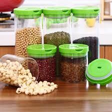 kitchen accessories green lids strawberry ceramic decorative