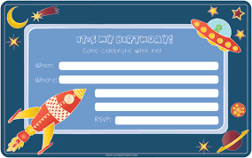 Create An Invitation Card Free Space Birthday Invitations Marialonghi Com