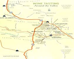 Wisconsin Winery Map by Wine Tasting Santa Barbara County Best Ideas Of Wine