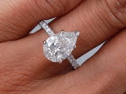 pear engagement ring ctw pear shape diamond engagement ring g si2