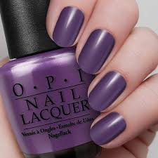 purple with a purpose nail lacquer opi