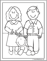 45 mothers coloring pages print customize mom