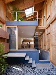 Narrow House Designs House In A Small And Narrow Site In Kanagawa Japan