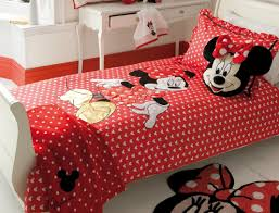 Minnie Mouse Bedspread Set Pastel Minnie Mouse Bedding Best Mouse 2017