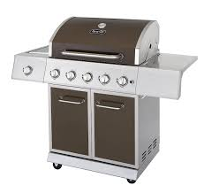 Brinkmann 2 Burner Gas Grill Review by Amazon Com Dyna Glo Dge Series Propane Grill 5 Burner Bronze