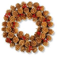 pinecone wreath 20 glittered pinecone wreath national tree company target