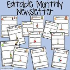 free monthly calendars and newsletter templates finally just