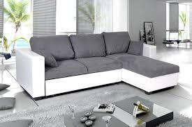 canapé gris et blanc pas cher photos canapé d angle convertible gris