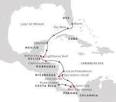 Map Of Eastern Caribbean Islands by Caribbean Cruises Exploration Of The Caribbean U0027s Cays Coves And