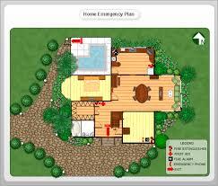 Sample Home Floor Plans Conceptdraw Samples Floor Plan And Landscape Design