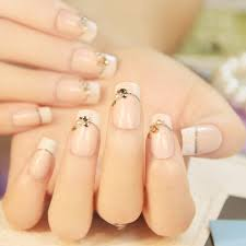 aliexpress com buy 24 pcs senior bride wedding fake nails normal