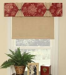 How To Sew A Curtain Valance Make A Quick And Easy Window Valance Kitchen Window Curtains
