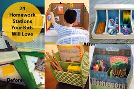 kids homework station kids homework fun spaces stations and caddies