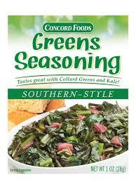 concord foods southern style greens seasoning shop seasonings at heb