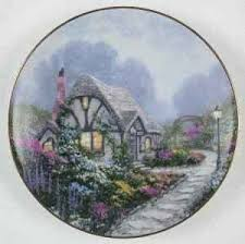 chandler s cottage collectible plate by