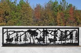 decorative metal fencing