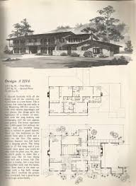 Old House Floor Plans Vintage House Plans 1970s Old Homes On 4
