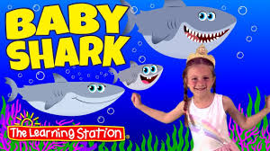 baby shark youtube learning station baby shark song paige baby shark c songs action dance
