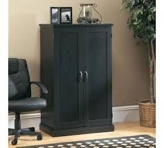 Compact Computer Cabinet Home Office Cabinets Armoires Hutches Creativity Yvotube Com