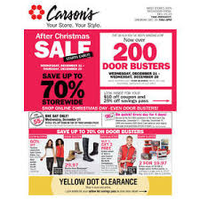 carsons black friday sale carson u0027s after christmas sale