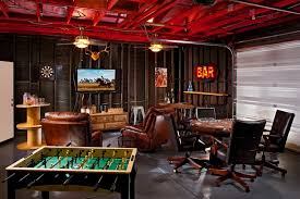Building A Game Room - 10 garage conversion ideas to improve your home men cave garage