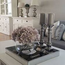 NissaLynn Interiors My Coffee Table Decor In The Morning - Kitchen table decor ideas