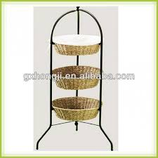 fruit basket stand 3 tier fruit basket floor stand 1 3 tier floor basket stand 3