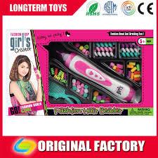 fashion hair beader new style fashion hair beader jewellery kits for kids