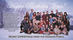 duggar family from celebrity christmas cards e news