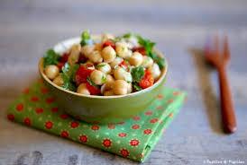 cuisiner pois chiche salade de pois chiches thon et poivrons