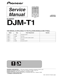 pioneer djm t1 service manual by fu3l3r fu3l3r issuu
