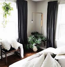 Curtains In A Grey Room Bedroom Awesome Curtains Black And Grey Decorating 25 Best Ideas