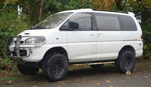 mitsubishi van lloyd u0027s blog 4 wheel drive van