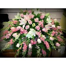 casket sprays harts pink pink casket spray bad axe florists harts