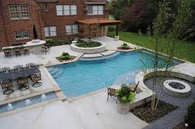Inground Pool Patio Designs Rectangle Pool Designs Pool Traditional With Brick Facade Covered