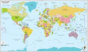 World Map Pdf by World Capitals Map Pdf World Capitals Map World Capitals Map Pdf