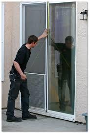 How To Install Sliding Patio Doors Sliding Patio Screen Doors Sacramento Ca A To Z Window Screens