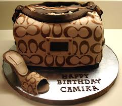 coach purse cakes birthday cake bag designs mirauncut