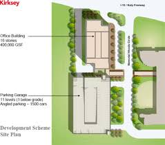 building site plan sanctioned by the congregation the office building to