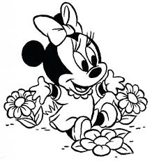 coloring pages printable minnie mouse coloring pages printable